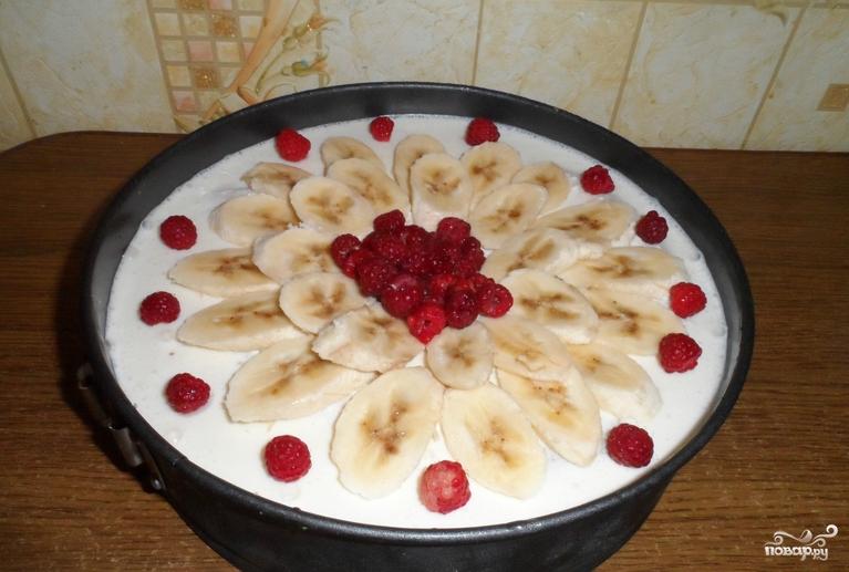 Торты из фруктов без выпечки рецепты
